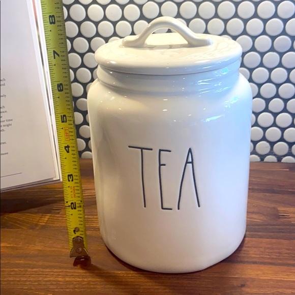 """Rae Dunn Tea canister 8"""""""